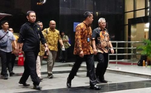 Komisioner KPU Mendatangi KPK Pasca-OTT Wahyu Setiawan (foto: Okezone)