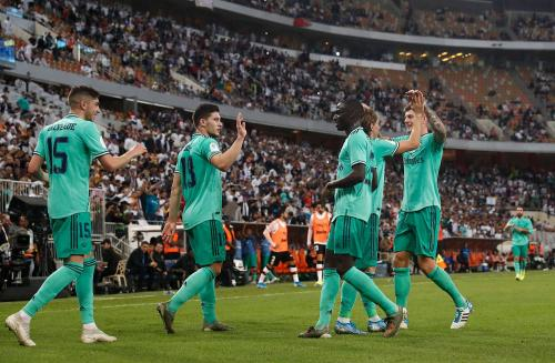 Para pemain Real Madrid