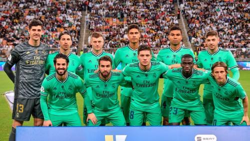 Suasana laga Valencia vs Madrid