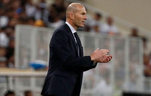 Zinedine Zidane puas melihat kemenangan anak asuhnya (Foto: Real Madrid)