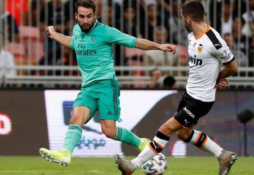 Dani Carvajal lebih leluasa naik membantu serangan dengan formasi tersebut (Foto: Real Madrid)