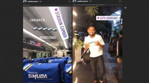 Saddil Ramdani diisukan mendekat ke Persib Bandung