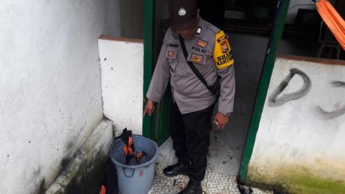 Lokasi ledakan di Bengkulu
