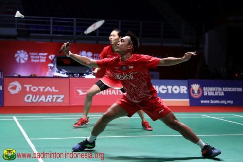 Hafiz dan Gloria saat sedang membela Tim Indonesia