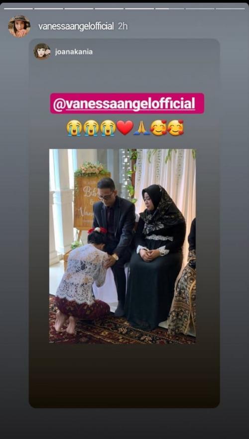 Vanessa Angel dan Bibi menikah