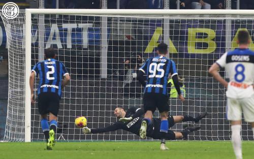 Inter Milan vs Atalanta (Foto: Twitter/@Inter_en)