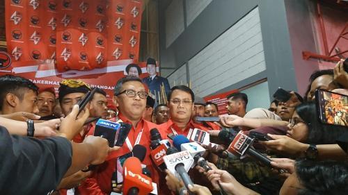 Sekjen PDIP Hasto Kristiyanto (Foto : Okezone.com/Arie)