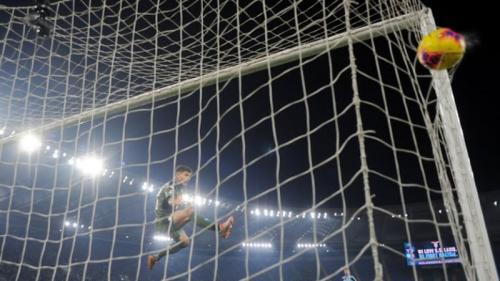 Gol tunggal Ciro Immobile di menit 85 (Foto: Reuters)