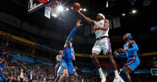 Oklahoma City Thunder vs Los Angeles Lakers