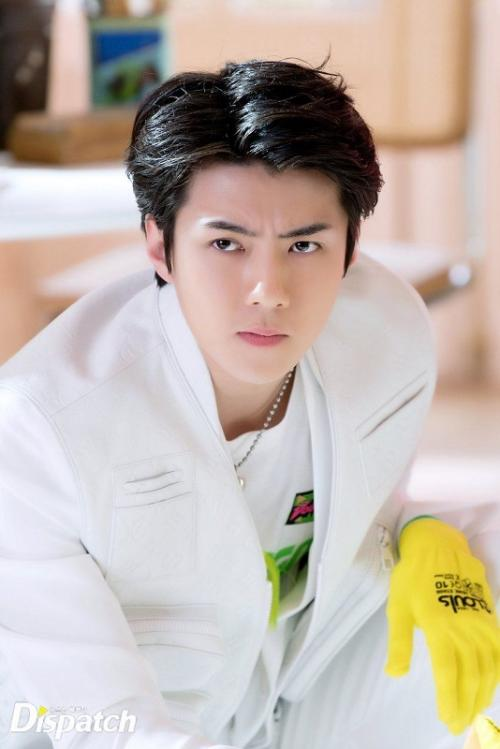 Sehun EXO. (Foto: Dispatch)