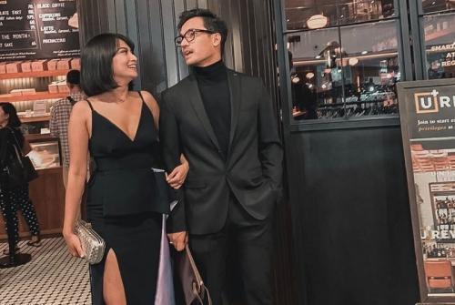 Vanessa Angel dan suami. (Foto: Instagram/@vanessaangelofficial)