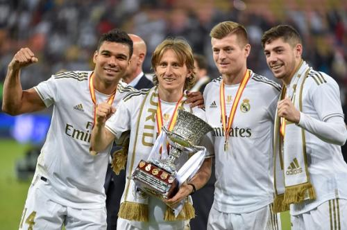 Real Madrid menangi Piala Super Spanyol 2020