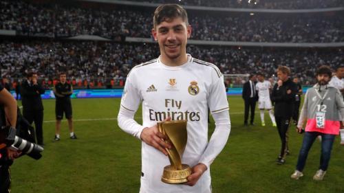 Federico Valverde menjadi MVP di final Piala Super Spanyol