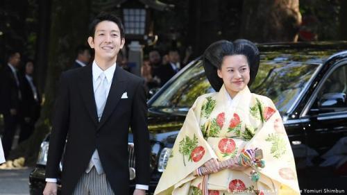 rakyat biasa dan menjadi Ayako Moriya, bukan lagi seorang putri kekaisaran Jepang.