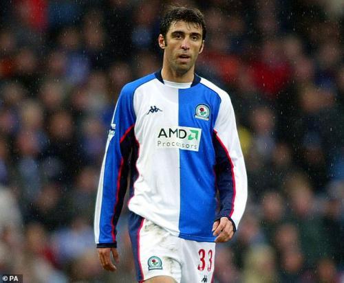 Hasan Sukur saat masih di Blackburn Rovers