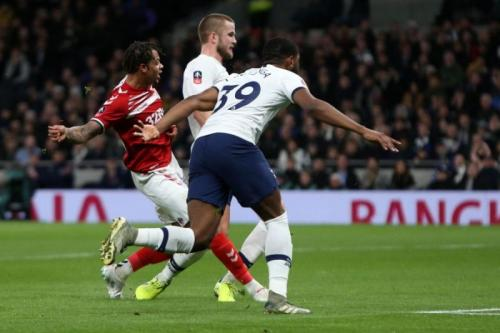 The Boro merepotkan Spurs di babak kedua (Foto: Middlesbrough)