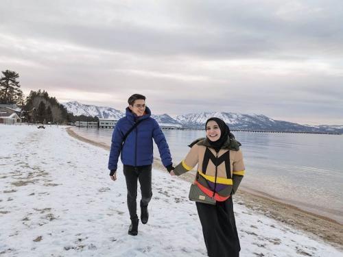 Zaskia Sungkar dan Irwansyah. (Foto: Instagram/@zaskiasungkar15)