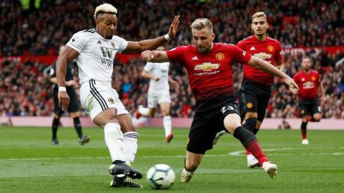 Man United diimbangi Wolves 1-1 musim lalu di Old Trafford (Foto: Premier League)