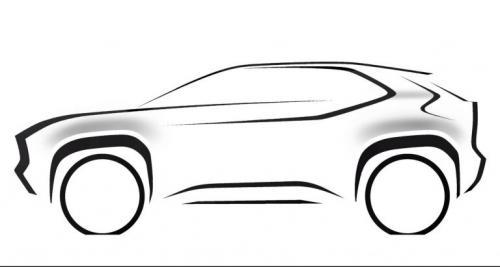 Toyota Yaris Versi SUV