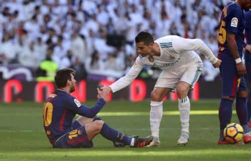 Lionel Messi dan Cristiano Ronaldo (Foto: Reuters)