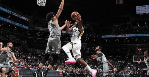 Brooklyn Nets vs Utah Jazz (Foto: NBA)