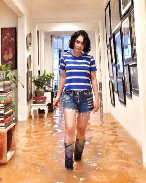 Yuni Shara kebanjiran