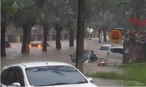 Banjir Surabaya Foto: Ist