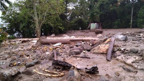 Banjir terjang Tanah Datar, Sumbar. (Ist)