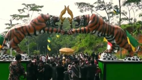 Kesultanan Selacau di Kota Tasikmalaya, Jawa Barat. (Foto: Ist/iNews.id)