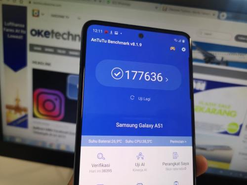 Ini Skor Benchmark AnTuTu Galaxy A51