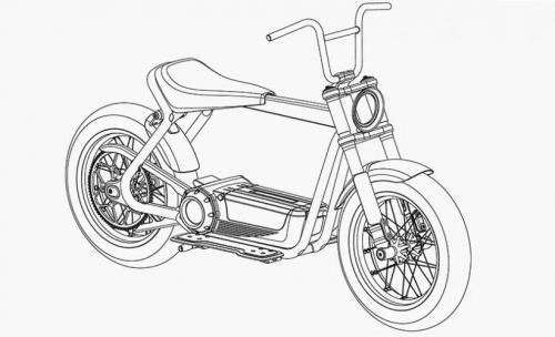 Skuter listrik Harley Davidson