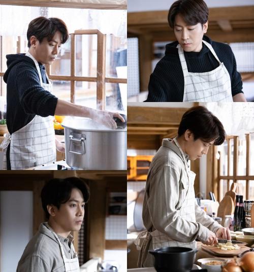 Eric Shihwa jadi koki dalam drama Yoo Byul Na! Chef Moon. (Foto: Channel A)
