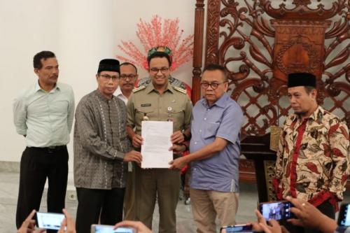 Cawagub DKI Jakarta.