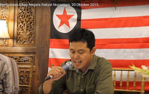 Viral Negara Rakyat Nusantara Ingin NKRI Dibubarkan (foto: Youtube/Ist)