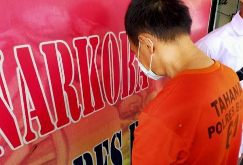 Pelaku Produsen Pabrik Ekstasi di Bogor
