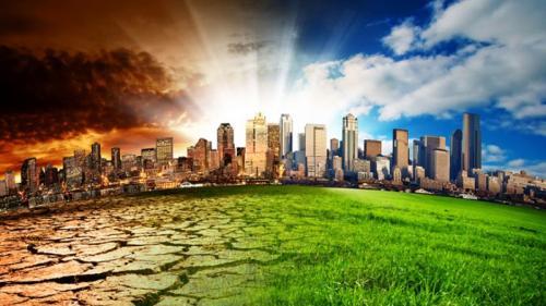 Perubahan iklim merupakan kondisi di mana pola cuaca di suatu wilayah yang mulai berubah dalam waktu lama.