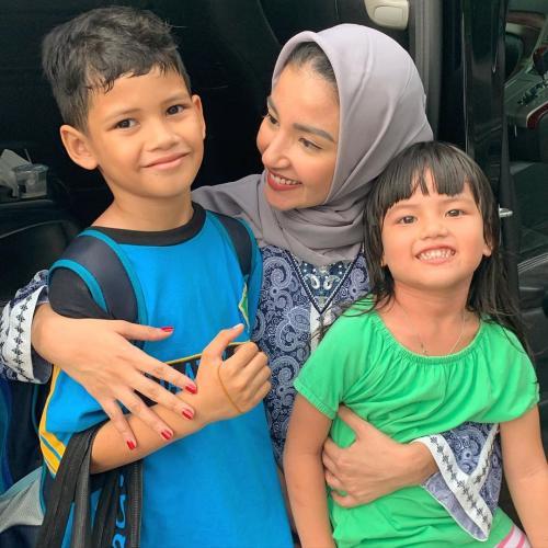 Tsania Marwa dan anak-anak