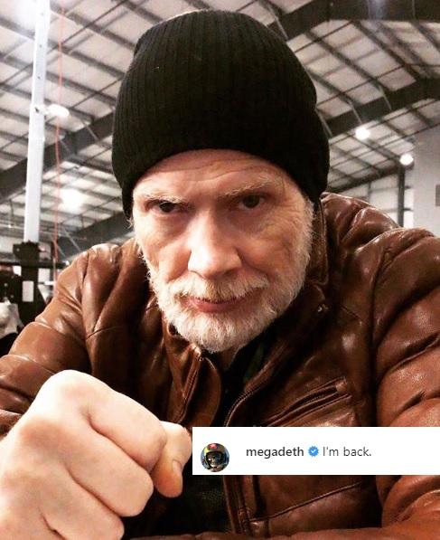 Dave Mustaine. (Foto: Instagram/@megadeth)