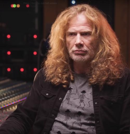 Dave Mustaine. (Foto: YouTube/uDiscover Music)