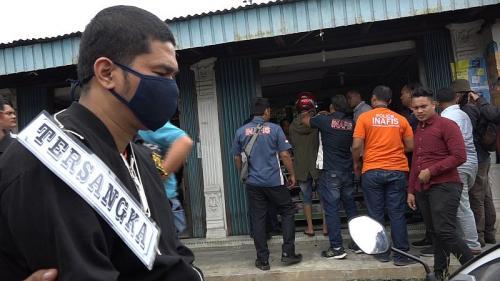 Rekonstruksi Ketiga Kasus Pembunuhan Hakim PN Medan, Jamaluddin (foto: Okezone/Wahyudi)