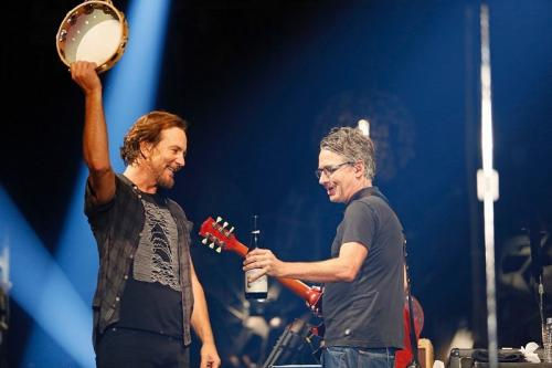 Pearl Jam. (Foto: Rob Skinner/Instagram/@pearljam)