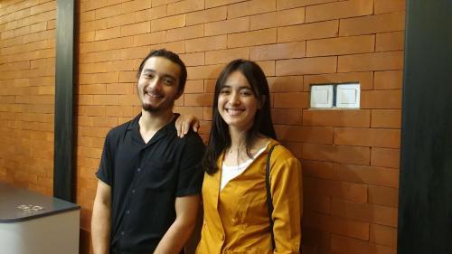 Bryan Domani dan Mawar Eva de Jongh