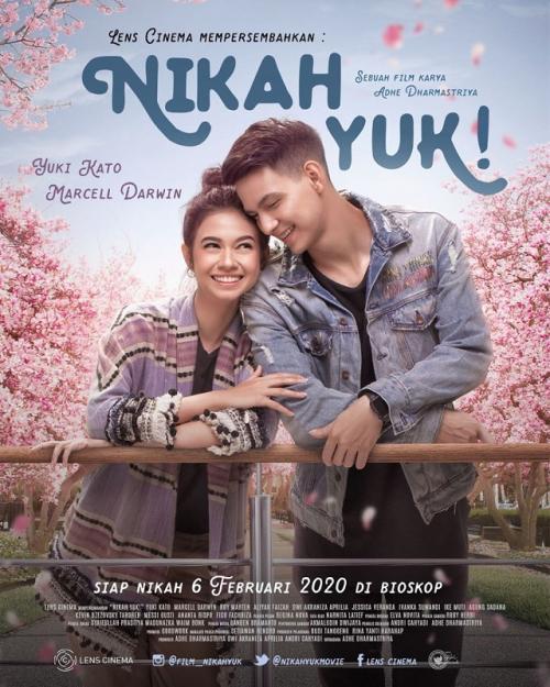Poster film Nikah Yuk. (Foto: Lens Cinema)