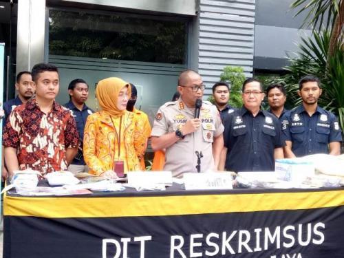 Polda Metro Jaya ungkap praktik ilegal dokter asal China di Tanjung Priok. (Foto: Fadel Prayoga/Okezone)