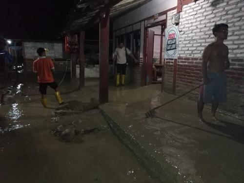 Banjir terjang Desa Gondang, Kecamatan Gondang, Bojonegoro. (Ist)