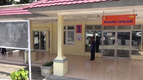 Ruang Isolasi di RSUP H Adam Malik Medan. (Foto : iNews TV/Ahmad Ridwan Nasution)