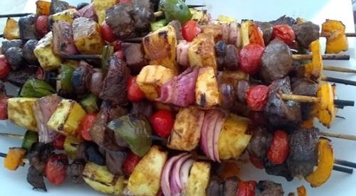Shish kebab makanan khas Lebanon. (Foto: Istimewa)
