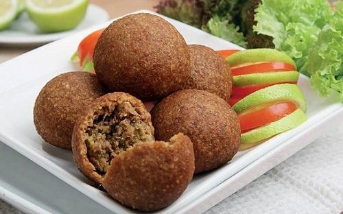 Kibbeh makanan khas Lebanon. (Foto: Istimewa)