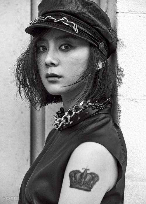 Hyerim mantan personel Wonder Girls. (Foto: VOGUE)