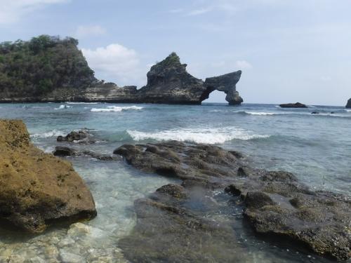 Atuh Beach di Nusa Penida Bali. (Foto: Dok Okezone/Tiara Putri)